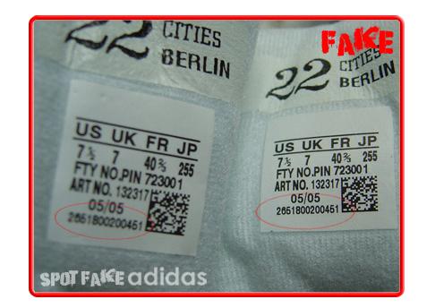 adidas original vs fake