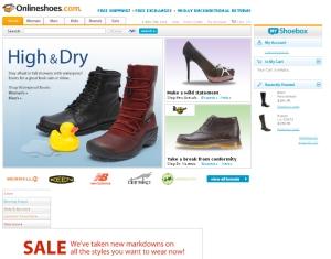 Online Shoe Site