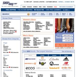 ShoeBuy.com Site