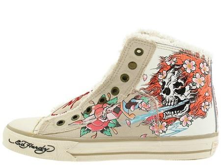 5345a3f845ef61 Ed Hardy HighRise Leather Shoes